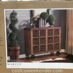 martin furniture accent cabinet weekender tablette versatile that feels home just turned legs ashley end tables coffee blue metal table rose gold bedside small glass mirrored 150x150