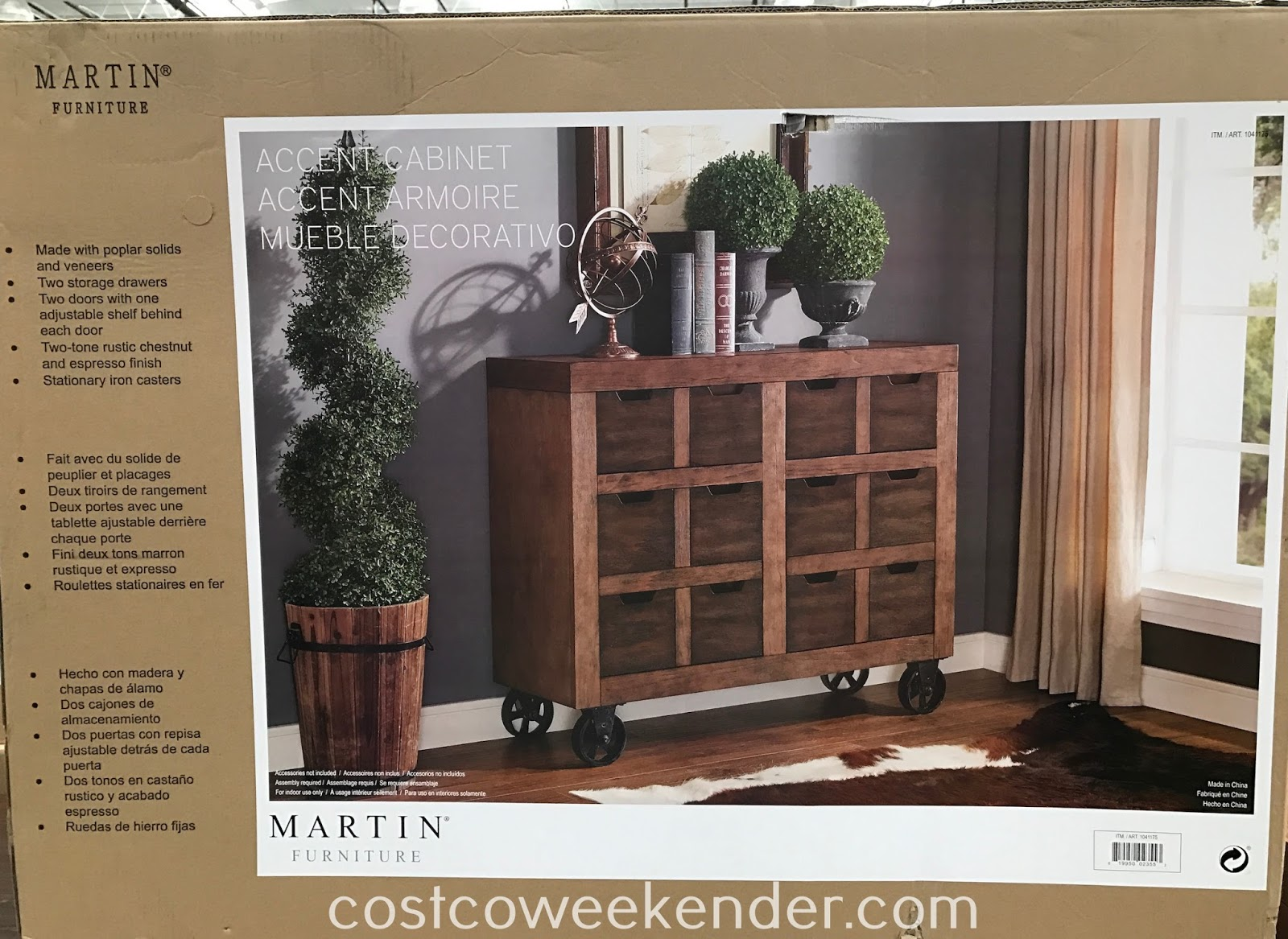 martin furniture accent cabinet weekender tablette versatile that feels home just turned legs ashley end tables coffee blue metal table rose gold bedside small glass mirrored