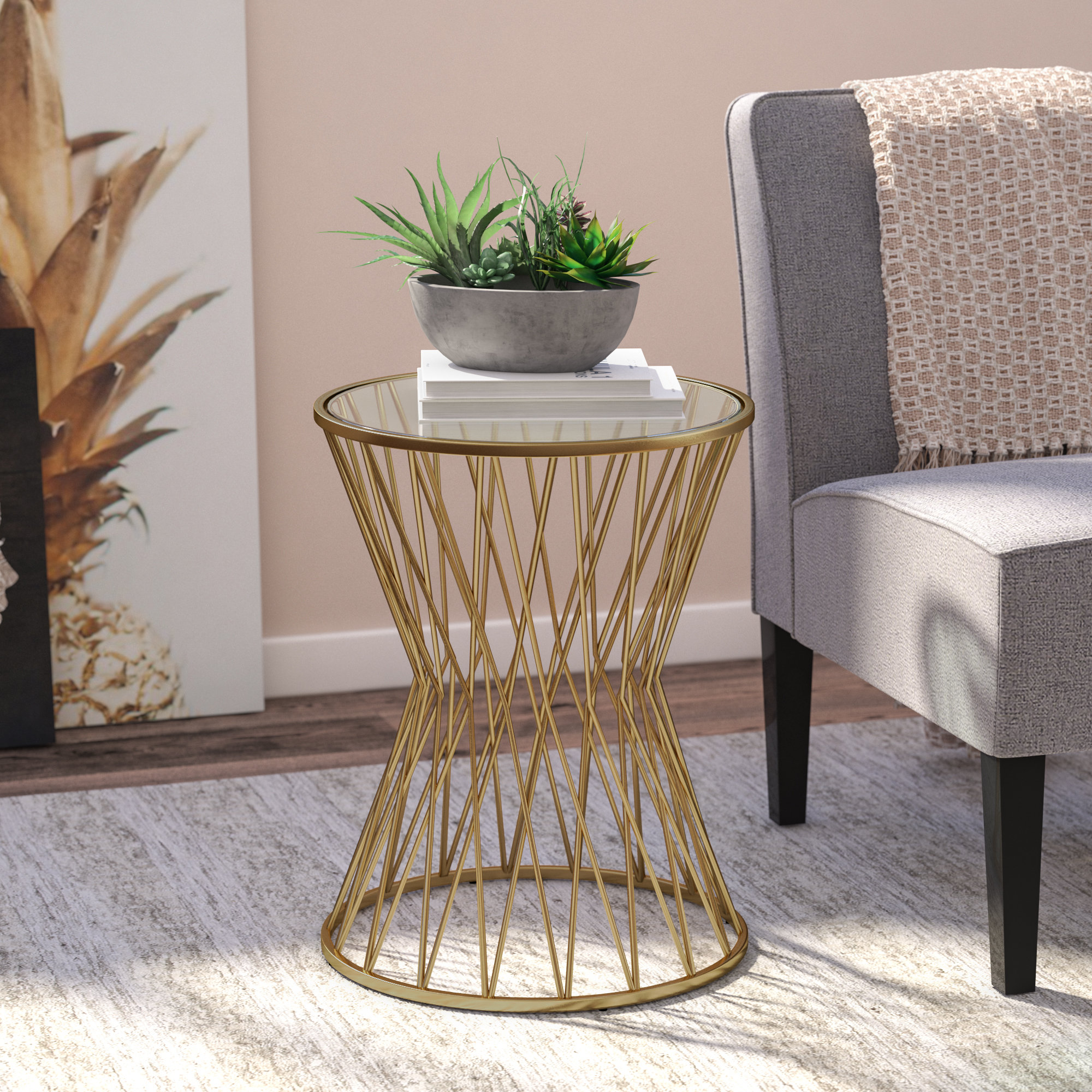 marvellous gold tray end table iron lamp lots caper big target lap couch snack adjustable wheels laptop argos floor contemporary space bey for glass computer base butler bedside
