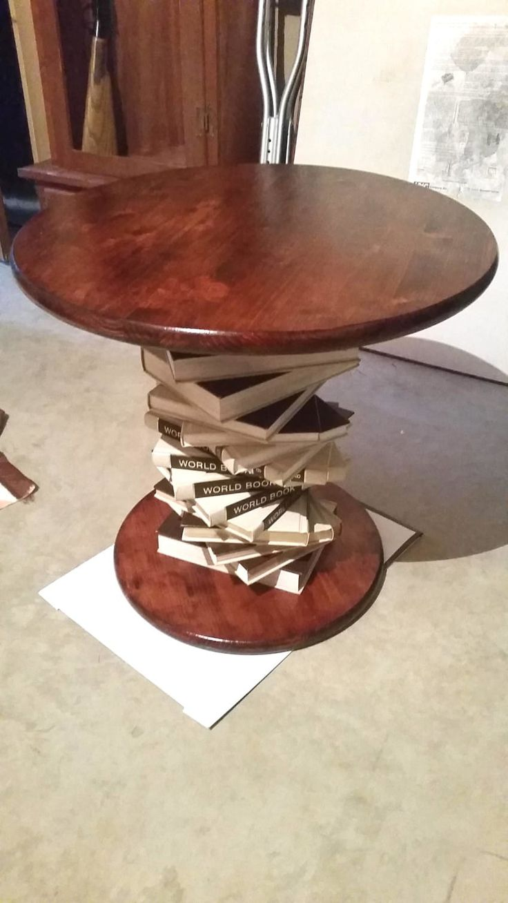 marvellous stacked book end table swivel style faux bookcase tables tall diy bookshelf hobby bookshelves plans round vintage revolving lobby shaped rotating antique upcycled