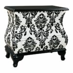 marvelous pulaski black accent chest tables furniture accentrics and harrison console versailles table mirrored ott accents corner hole pedestal credenza back silver celine 150x150