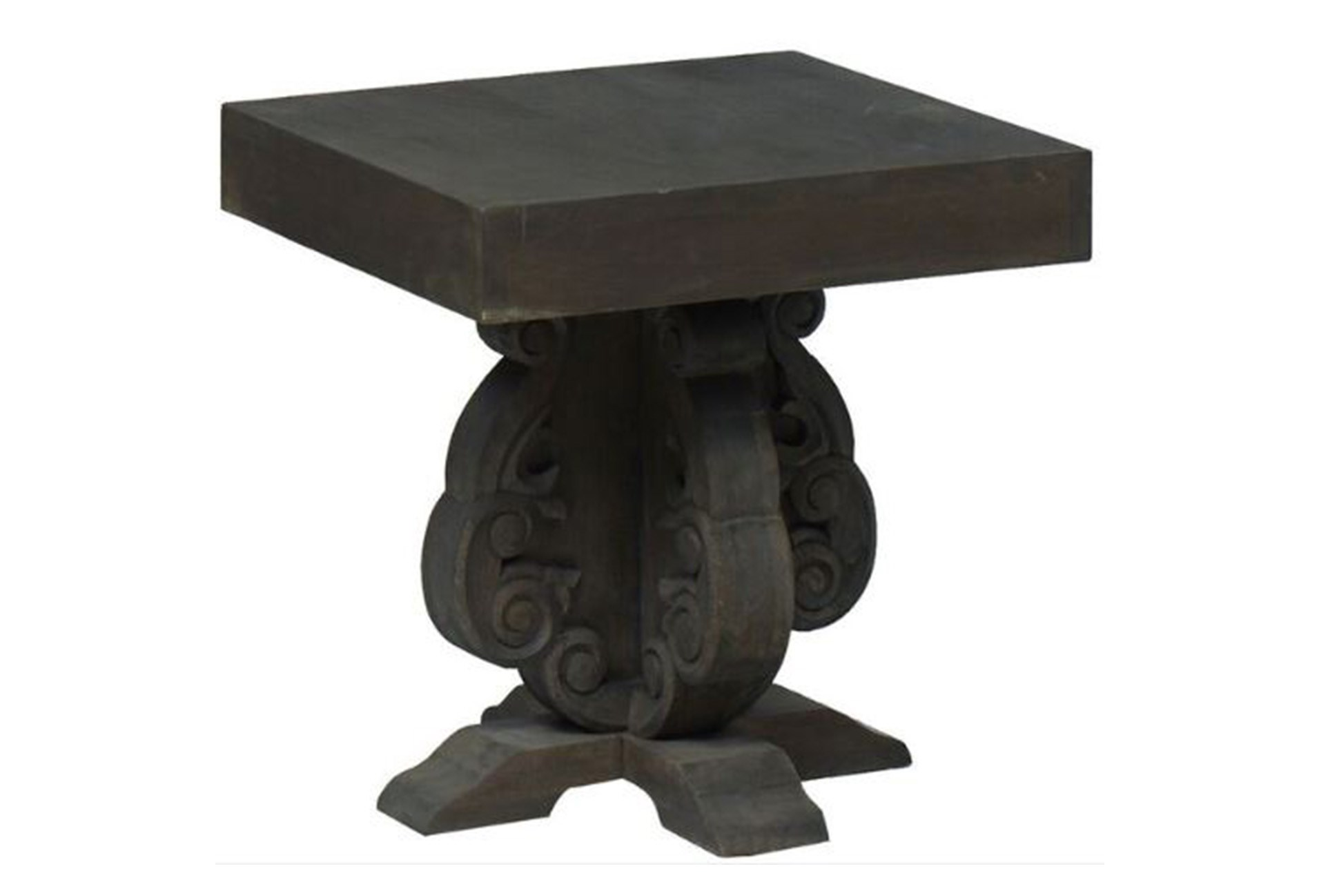 masonry accent table living spaces grey wood large view gray trestle dining inch round tablecloth white marble end small red lamp party cloth corner space bedroom furniture target