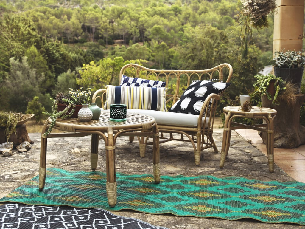 mastholmen outdoor series coffee table side ikea accent loveseat ethan allen media console resin patio with umbrella hole elm cocktail decor tablecloth for long small glass and