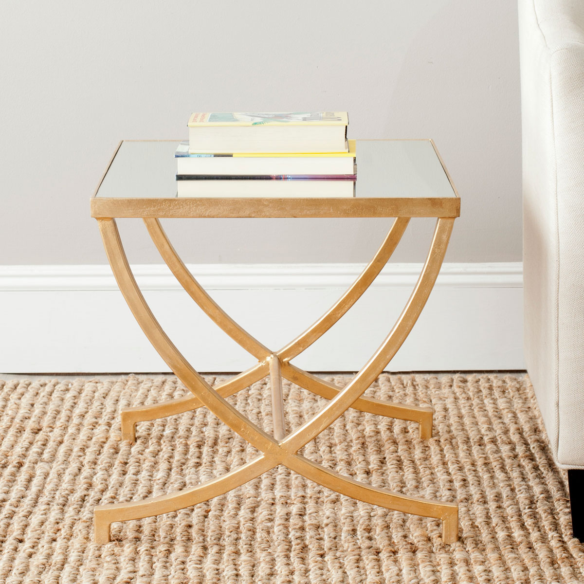 maureen glass top gold leaf accent table safavieh room solid pine bedroom furniture modern white coffee target wood end rose plus tablet big lots tables coastal floor lamps ashley