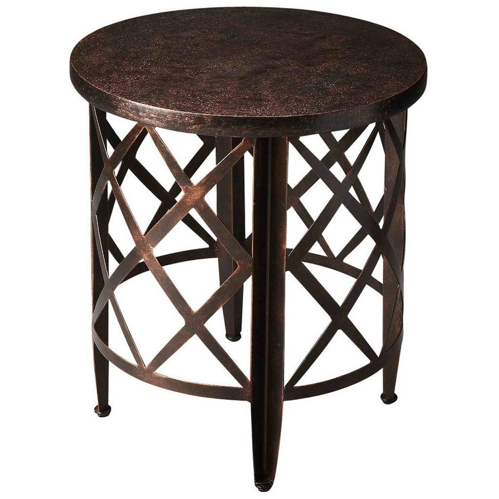 maxandruss collections side accent tables products table butler specialty metalworks copper end marble top breakfast rustic lamps west elm bliss sofa furniture design for small