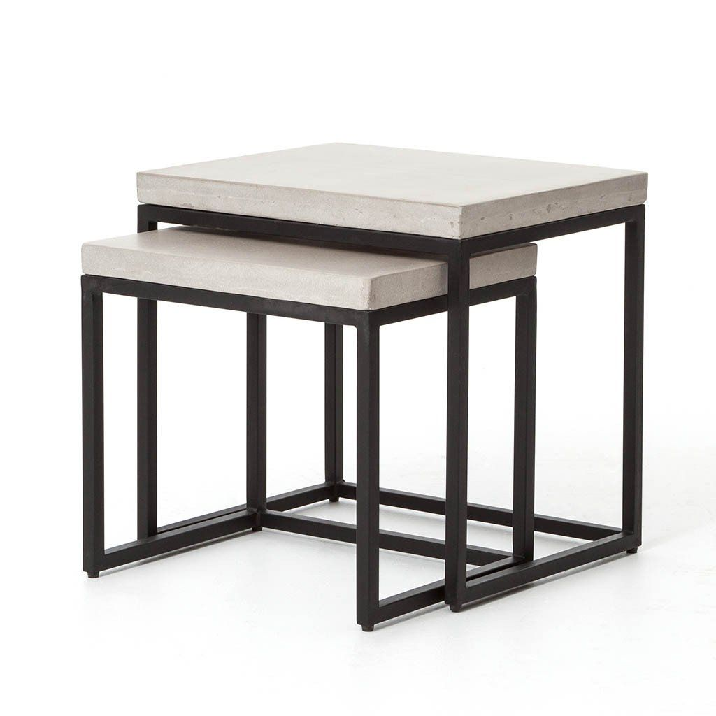 maximus nesting side tables table knurl accent slide these simple squared oaf apart for double the trestle dining unique small verizon ellipsis elm silver chest mahogany coffee