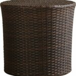 mazzella barrel wicker side table reviews outdoor brown dale tiffany dragonfly lily lamp stained glass standing round granite top coffee luxury living room furniture pier dining 150x150