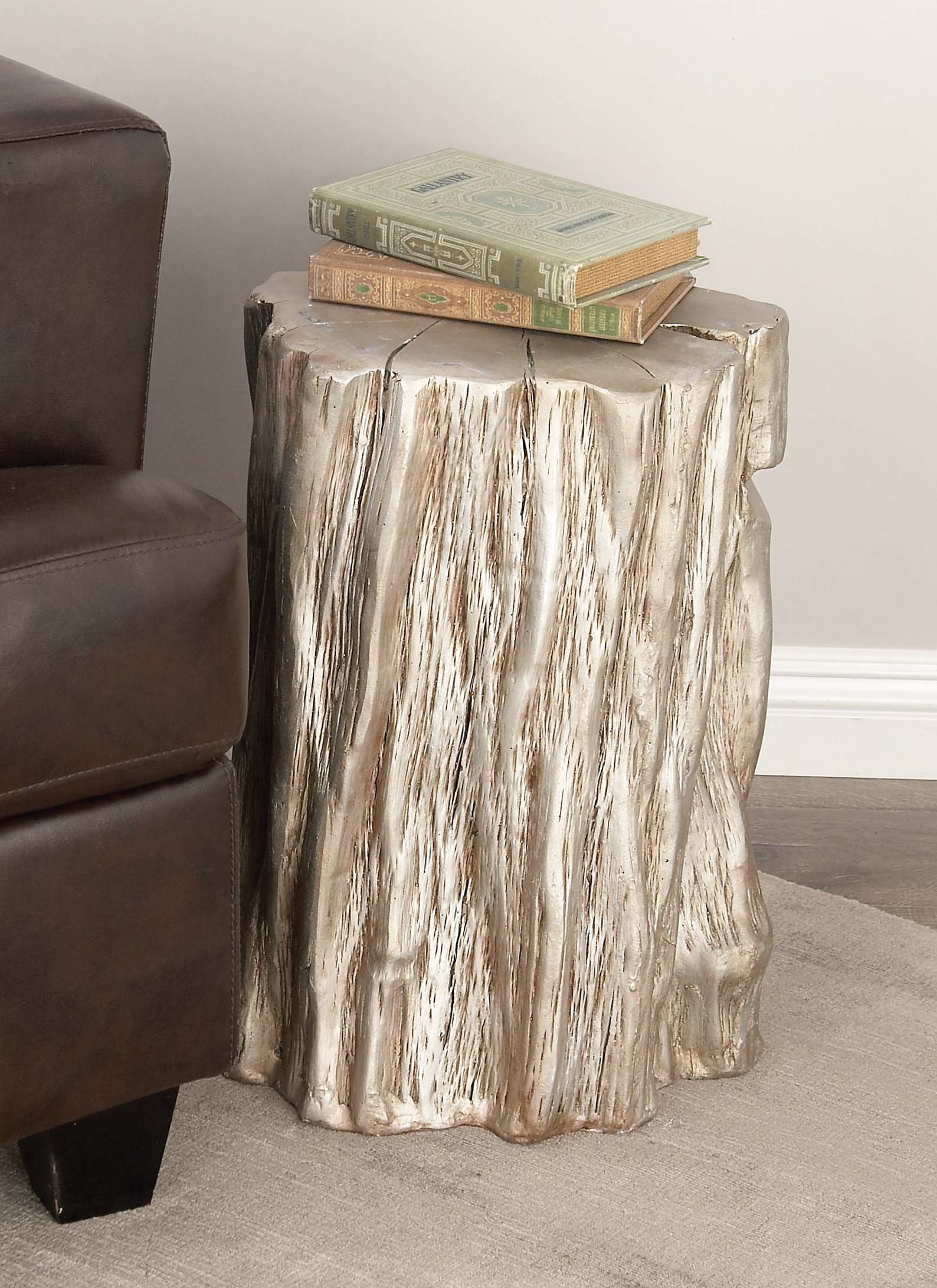 mcm end table probably terrific silver tree stump cole grey fiberglass accent stool reviews target dining room chairs side white and nightstand teak wedding arrangements coffee
