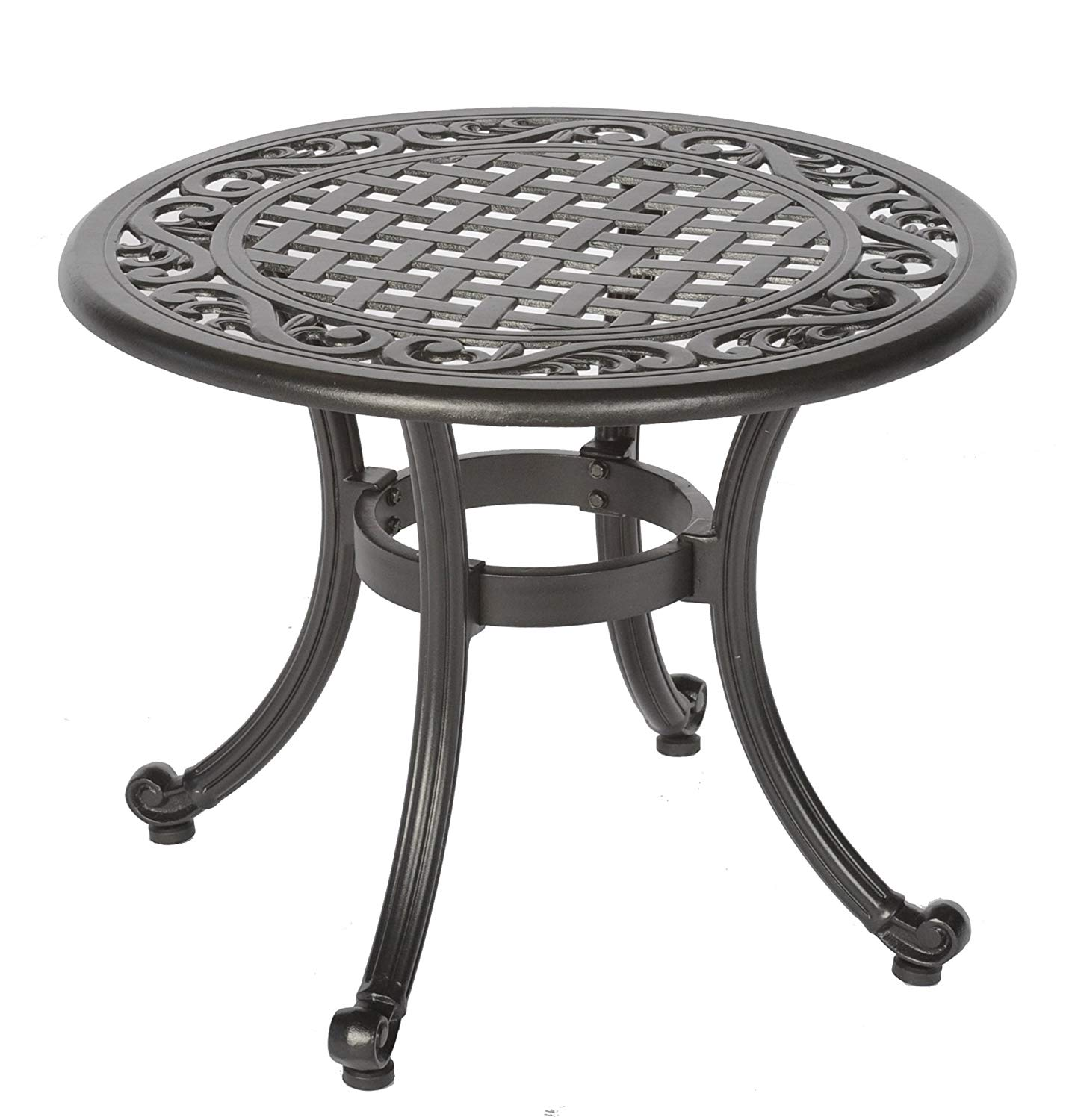 meadow decor kingston side table black patio pll outdoor accent tables garden antique dining kitchen hardware pulls red asian lamp console behind sofa threshold windham one door