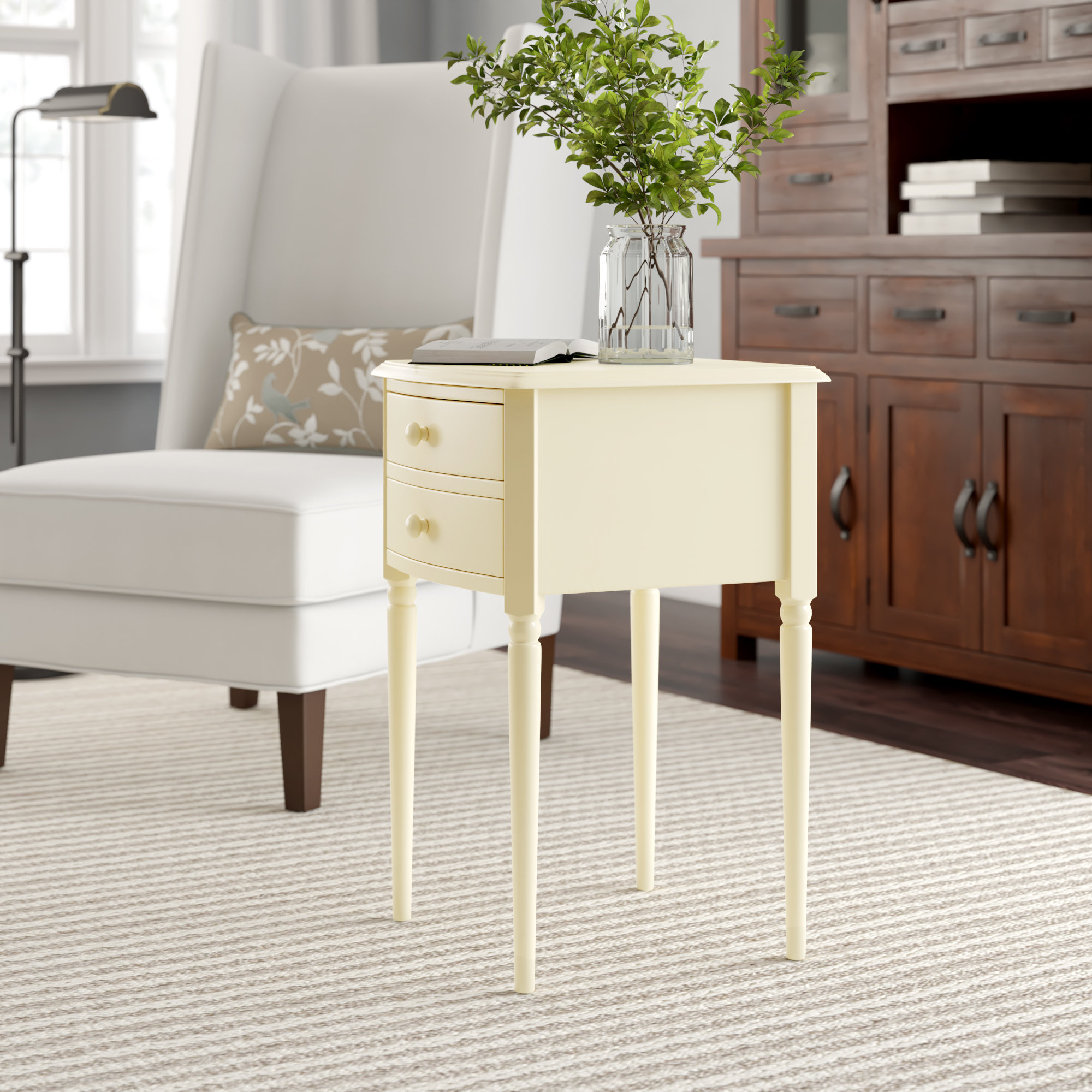 media side table amber room essentials mixed material accent ikea storage bench dining legs wood square for mirrored bedroom end tables round cloth covers contemporary home decor