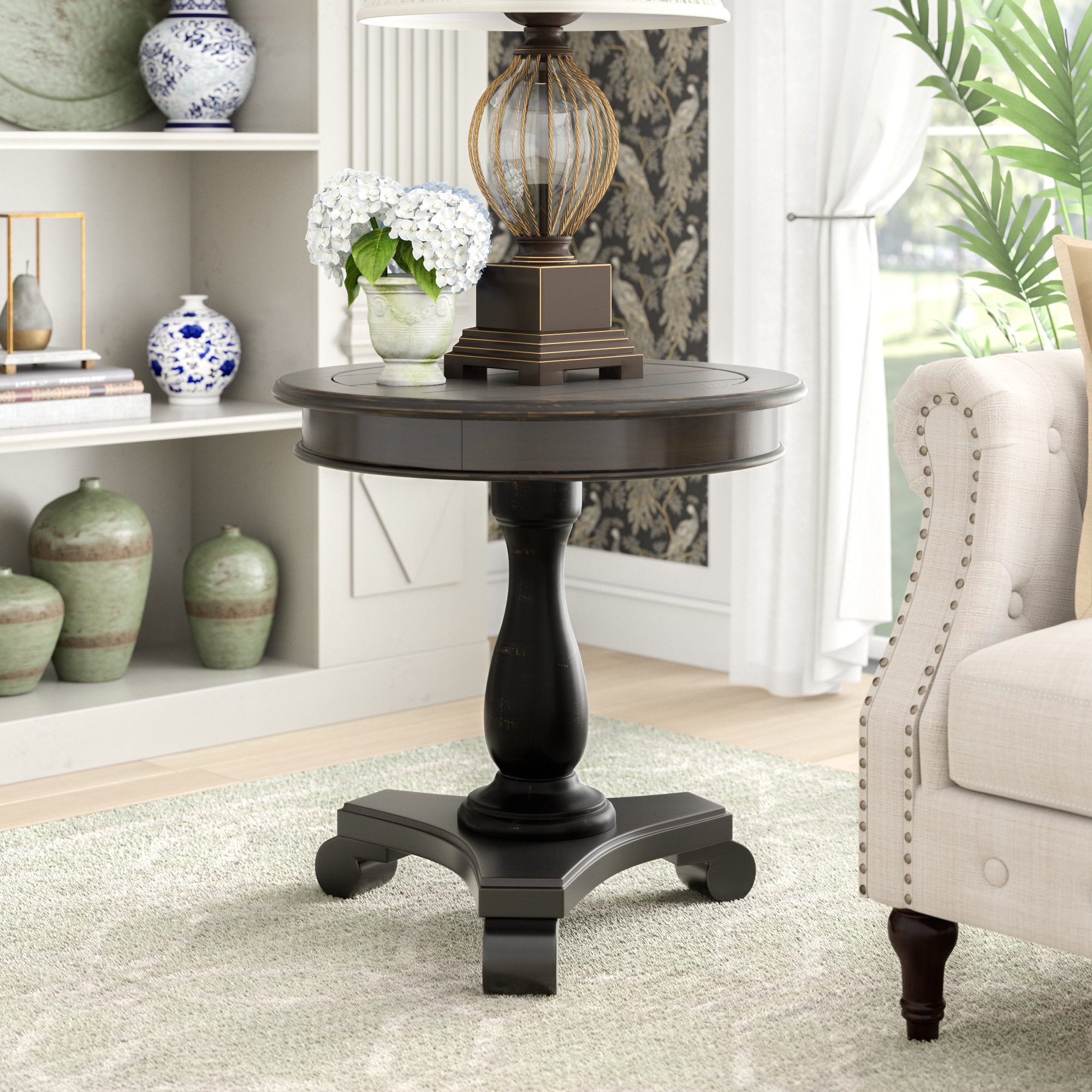 media side table lana end room essentials mixed material accent quickview contemporary home decor country tablecloths round cloth covers door console cabinet stylish lamps coffee