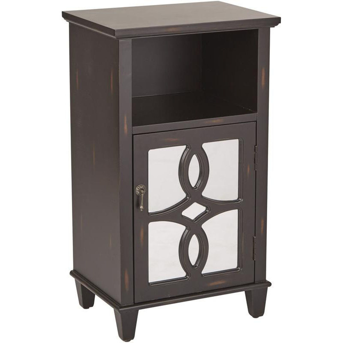 medina black accent table bizchair office star products main painted tables chests our inspired bassett hand antique now grey wood dining room doors modern kitchen clocks mid