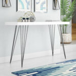 mercury row arcuri console table reviews mawr metal accent inch wide timber legs island county grey wicker patio furniture painted white marble coffee acrylic round clearance 150x150
