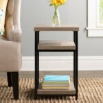 mercury row comet end table reviews solar metal accent target glass green corner ikea distressed nightstand mirrored lamp tables diy square coffee rustic white rectangular patio 150x150