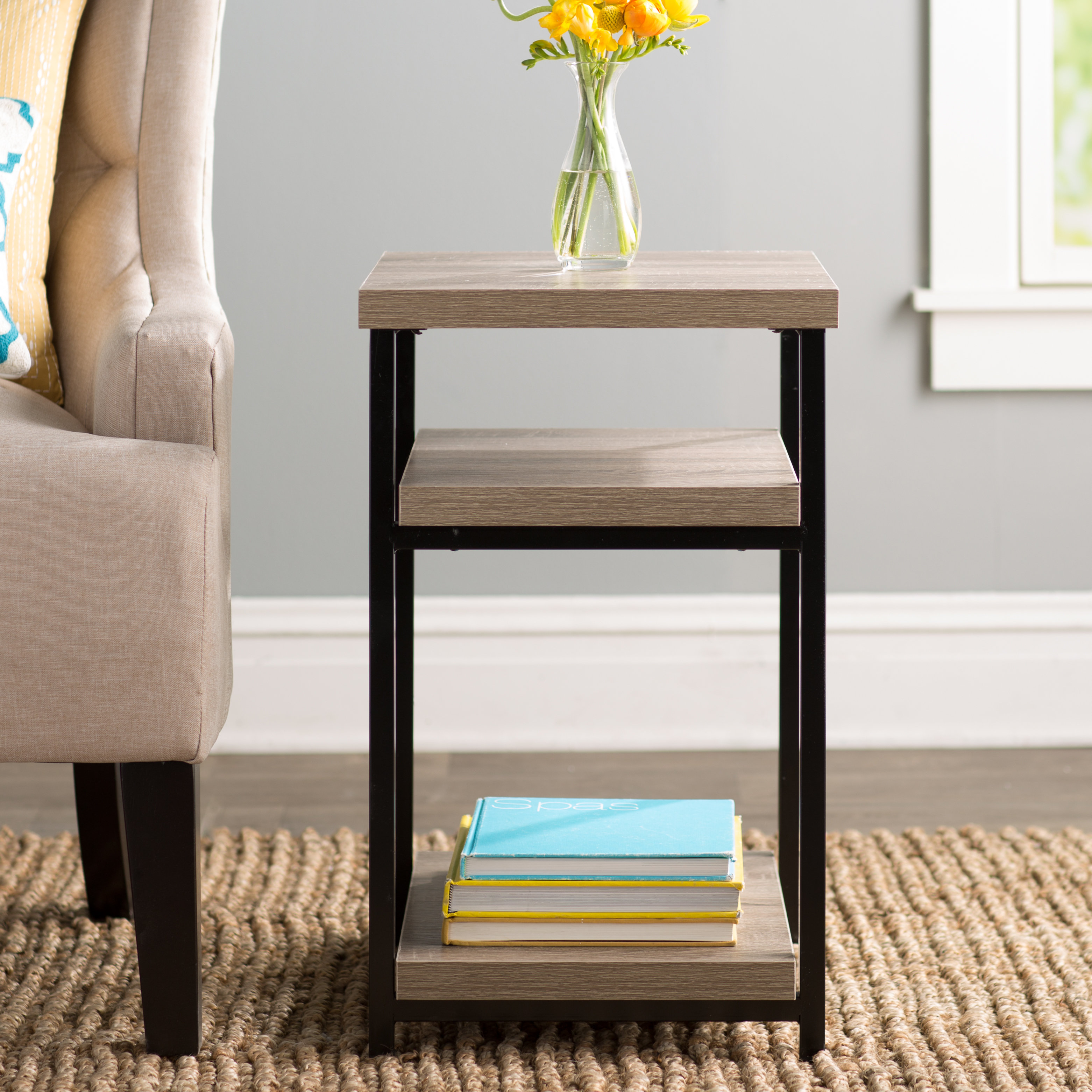 mercury row comet end table reviews solar metal accent target glass green corner ikea distressed nightstand mirrored lamp tables diy square coffee rustic white rectangular patio