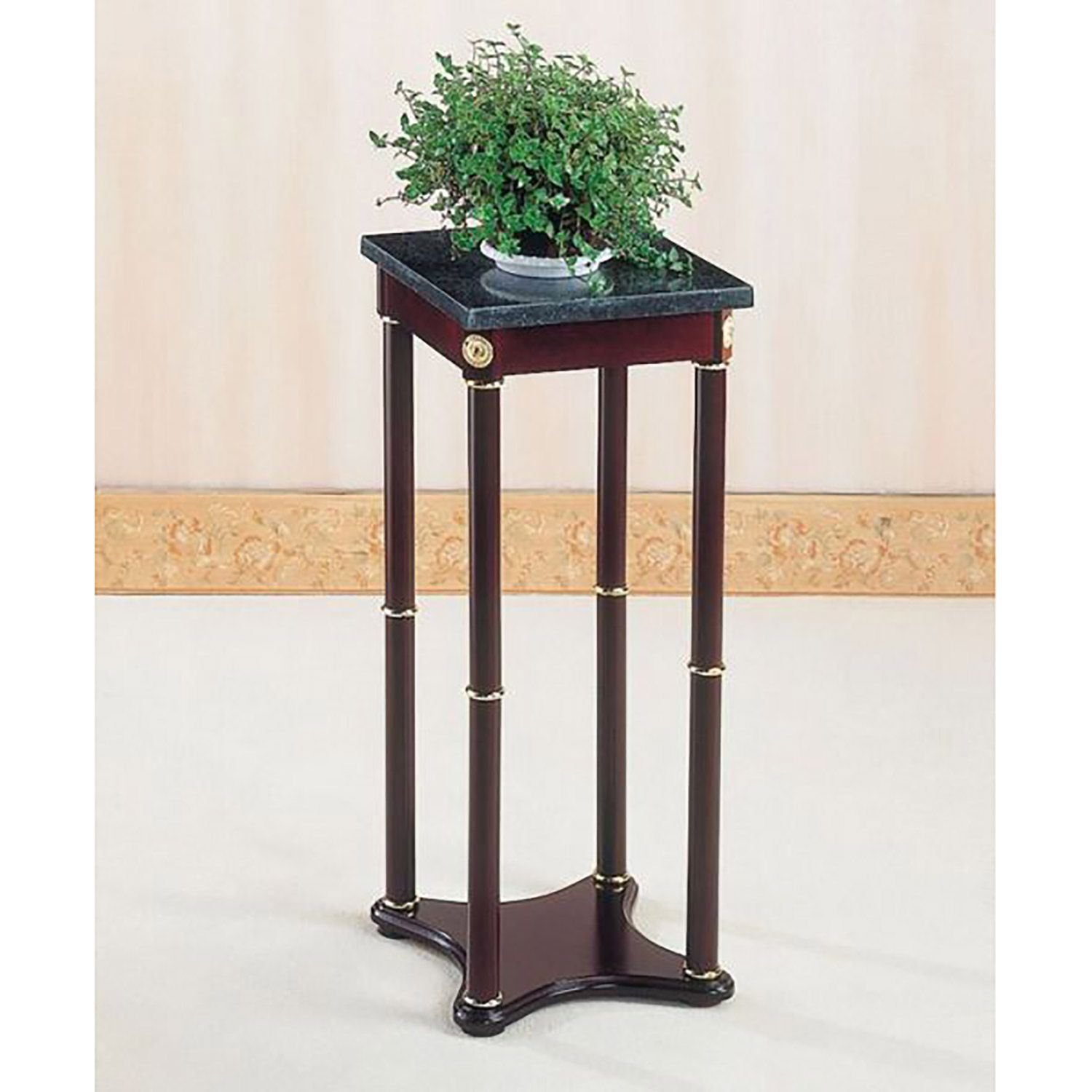 merlot square accent table afw with drawer ture beach furniture small black round brown coffee cherry wood end tables living room dark side target chairs outdoor ice bucket