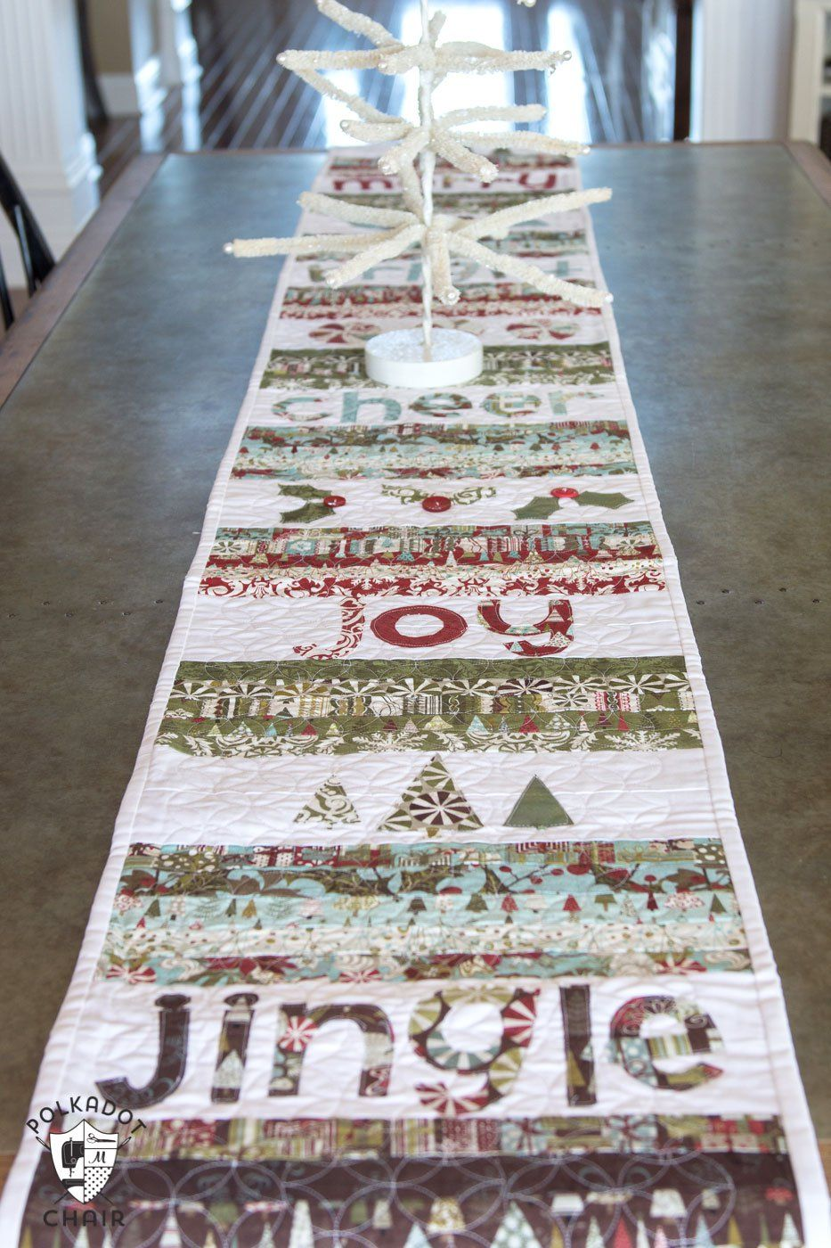 merry cheer quilted christmas table runner pattern the accent your focus free large entryway piece nesting coffee pottery barn crystal floor lamp modern sideboard fire pit target