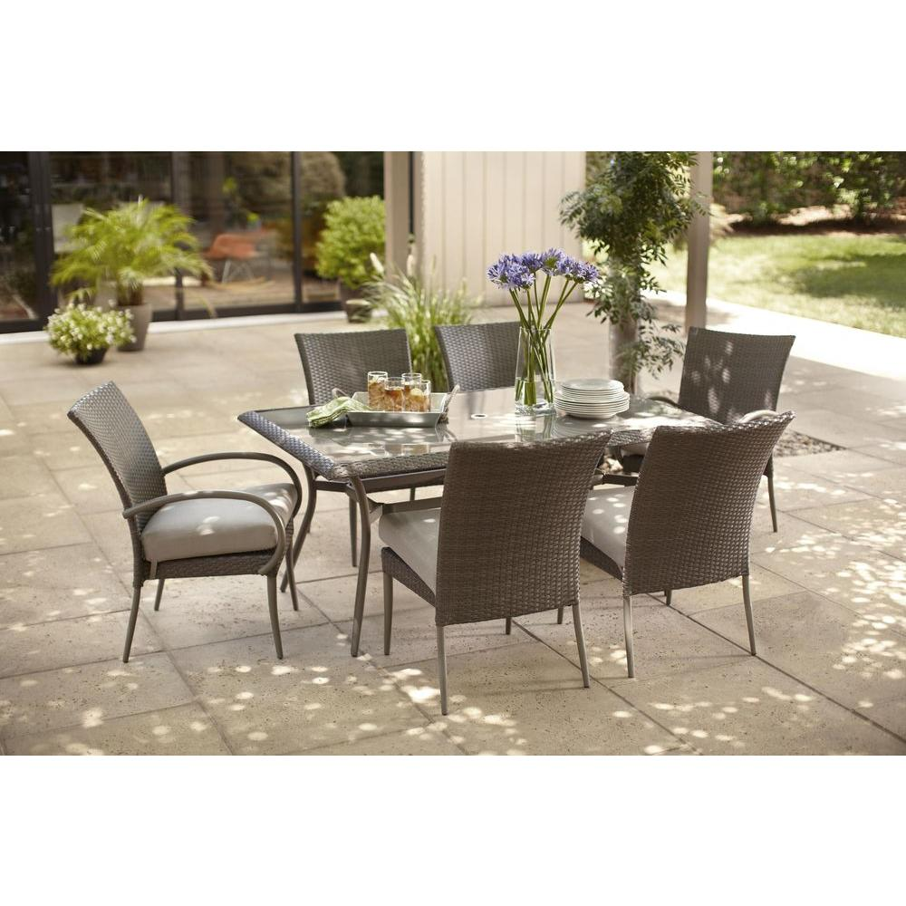 mesh large home plastic rattan resin aluminium rope metal grey contemporary patio outdoor cushions white threshold modern dining clearance bunnings wicker chair black depot set