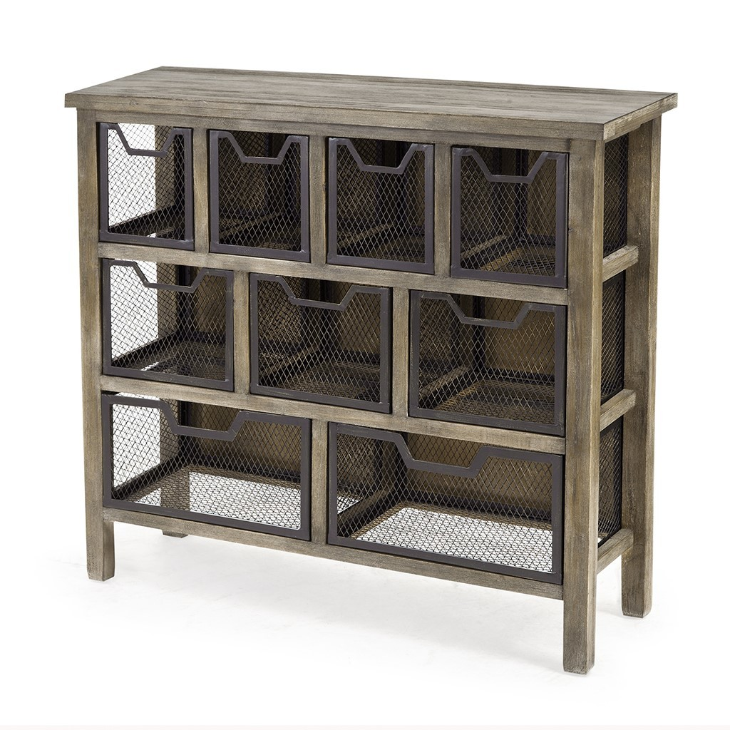 metal accent storage bin american home furniture and mattress angled view treasure chest victorian console table dining room end chairs diy wood coffee small entryway nautical