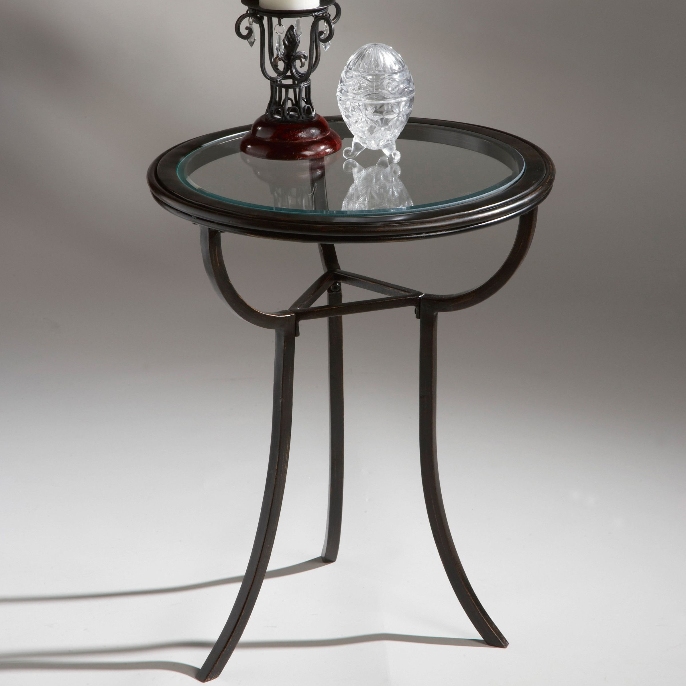 metal accent table with glass top end tables round iron kmart kids garden coffee set design plans teal kitchen decor pottery barn bar timber trestle legs pewter side target nate