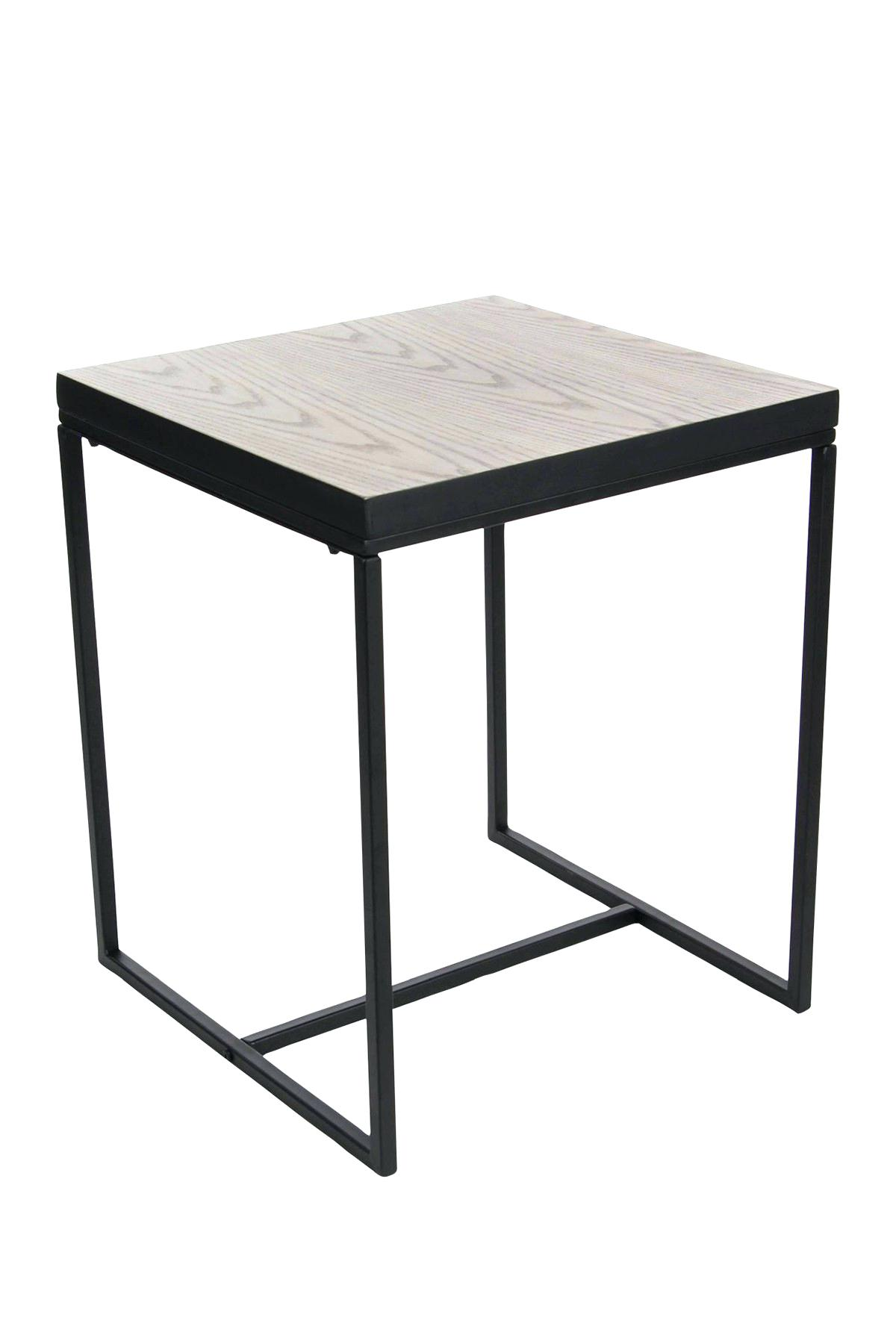 metal and wood accent table threshold round top chrisroland info brown black tall dining room sets resin furniture best trestle tables mid century modern kitchen patio seat covers
