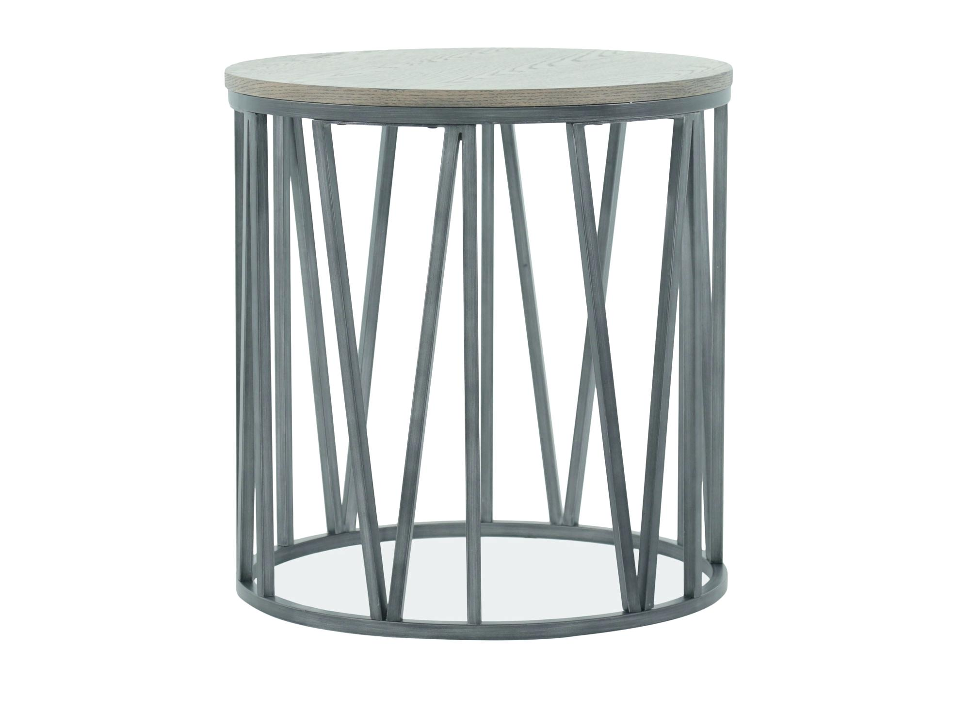 metal drum coffee table hammered side stylish end how rain accent freedom base casual gray brothers furniture kitchen engaging round full size throne seat top grey placemats