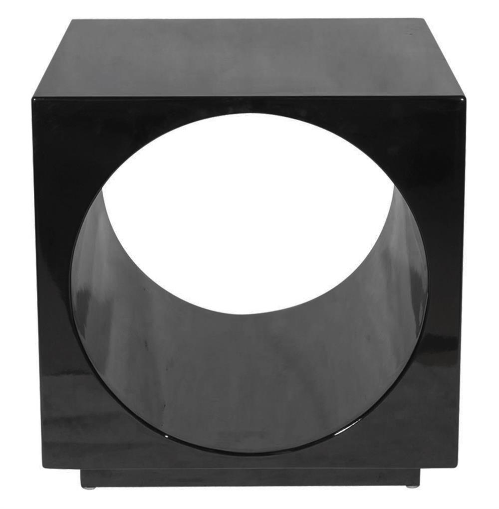 metal drum storage table probably terrific real black side cube migrant resource network product modern preston lacquer circle kathy kuo home red nightstand legs nightstands under
