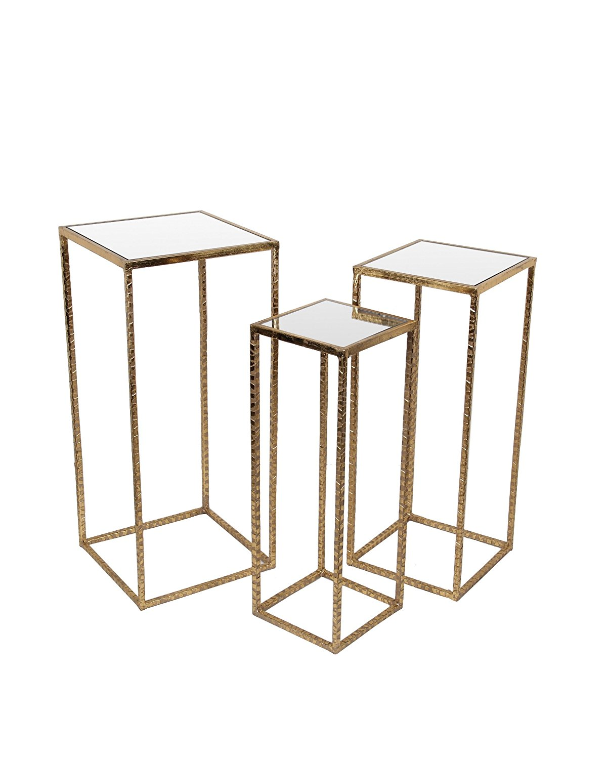 metal glass accent tables find square table get quotations piece nesting gold finish and set round farmhouse dining weathered wood side safavieh oval garden door chair design
