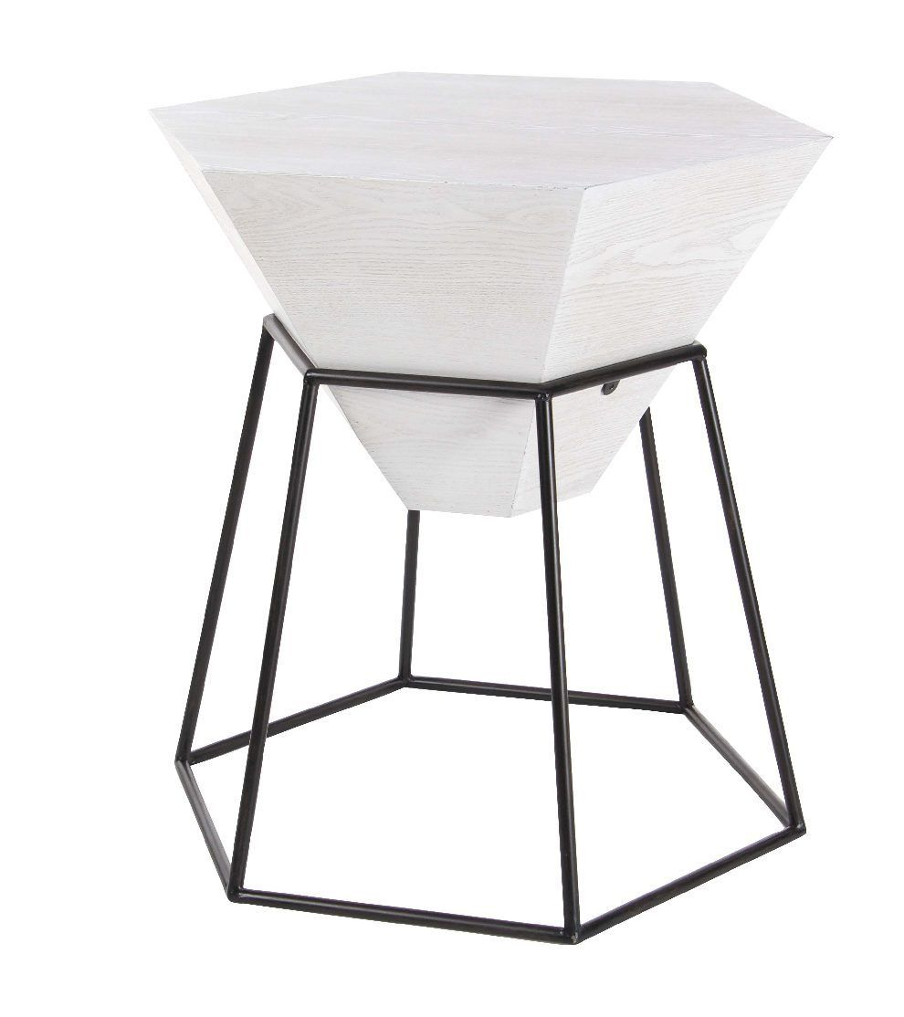 metal hex accent table bathroom end tables futuristic tall coffee decorative accents ideas bronze round side kitchen and chairs foyer furniture corner curio weber black lamps