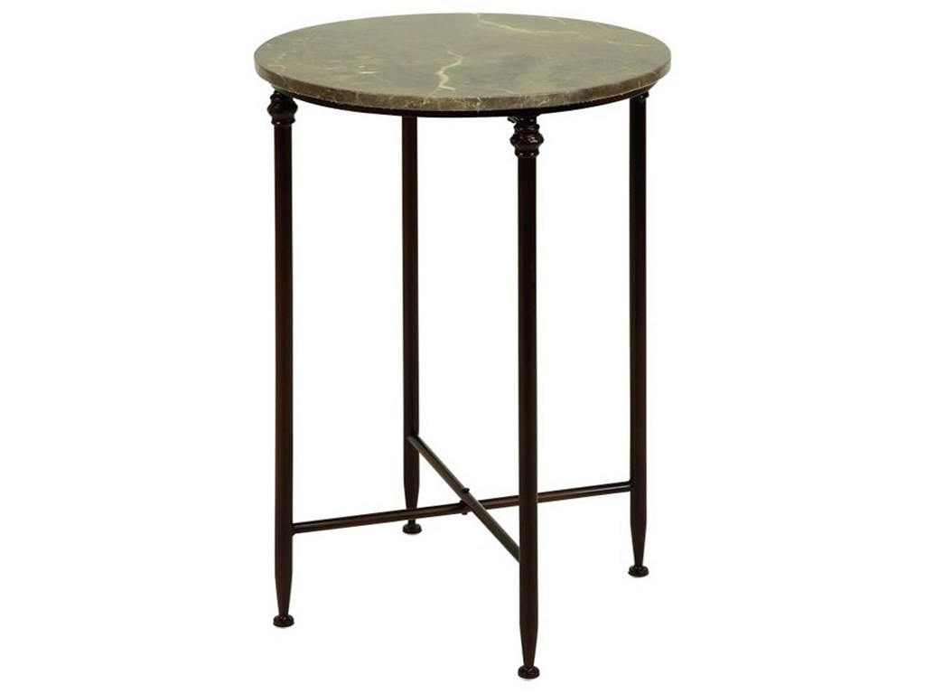 metal marble accent table furniture uma enterprises inc products color tables furnituremetal bamboo nest foot long console and wood entry home theater antique wooden pedestal