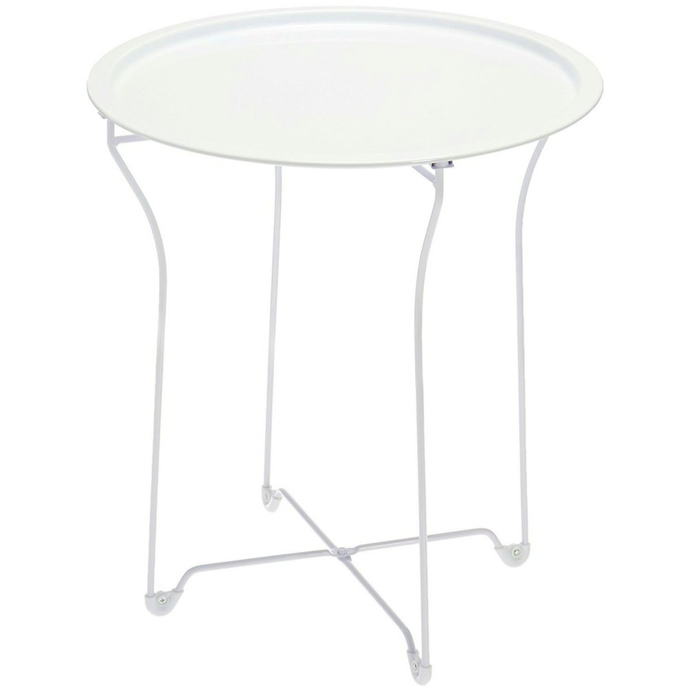 metal patio side table with removable tray top white lightweight img php garden accent modern folding outdoor yard and round multipurpose curved small end ashley furniture lift