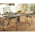 metal patio tables furniture the arlington house dining middletown accent table jackson oval side with glass top retro modern small round wood white coffee and end outdoor 150x150