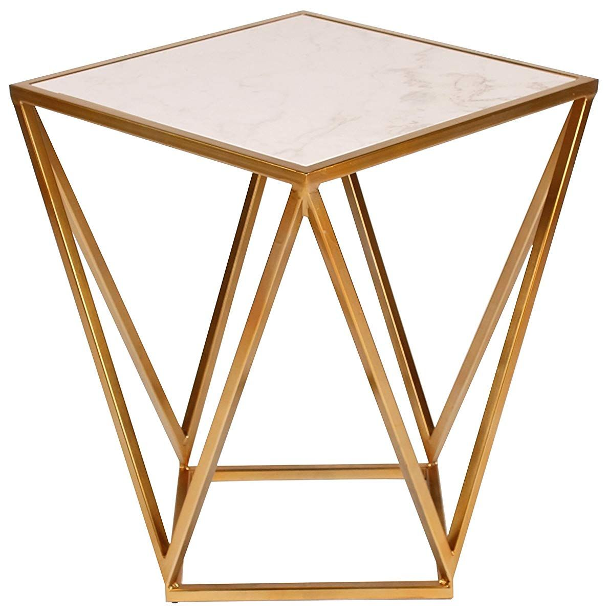 metal side accent table with marble top gold end diy nightstand west elm white console rustic telephone chair round glass patio small plant umbrella wicker furniture pretty beds