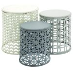 metal wood accent tables set furniture uma products enterprises inc color grey table furnituremetal the room white marble end small red lamp inch round tablecloth wicker storage 150x150