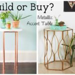 metallic side tables white dog vintage buildor threshold hexagon accent table you got little diy spirit decorating budget just plain some all three apply odds are don patio dining 150x150