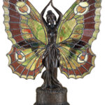 meyda tiffany butterfly lady accent lamp glass table decorative wine rack lighting lamps long console with drawers outside chairs oval cover gallerie sofa bedside lights jeromes 150x150