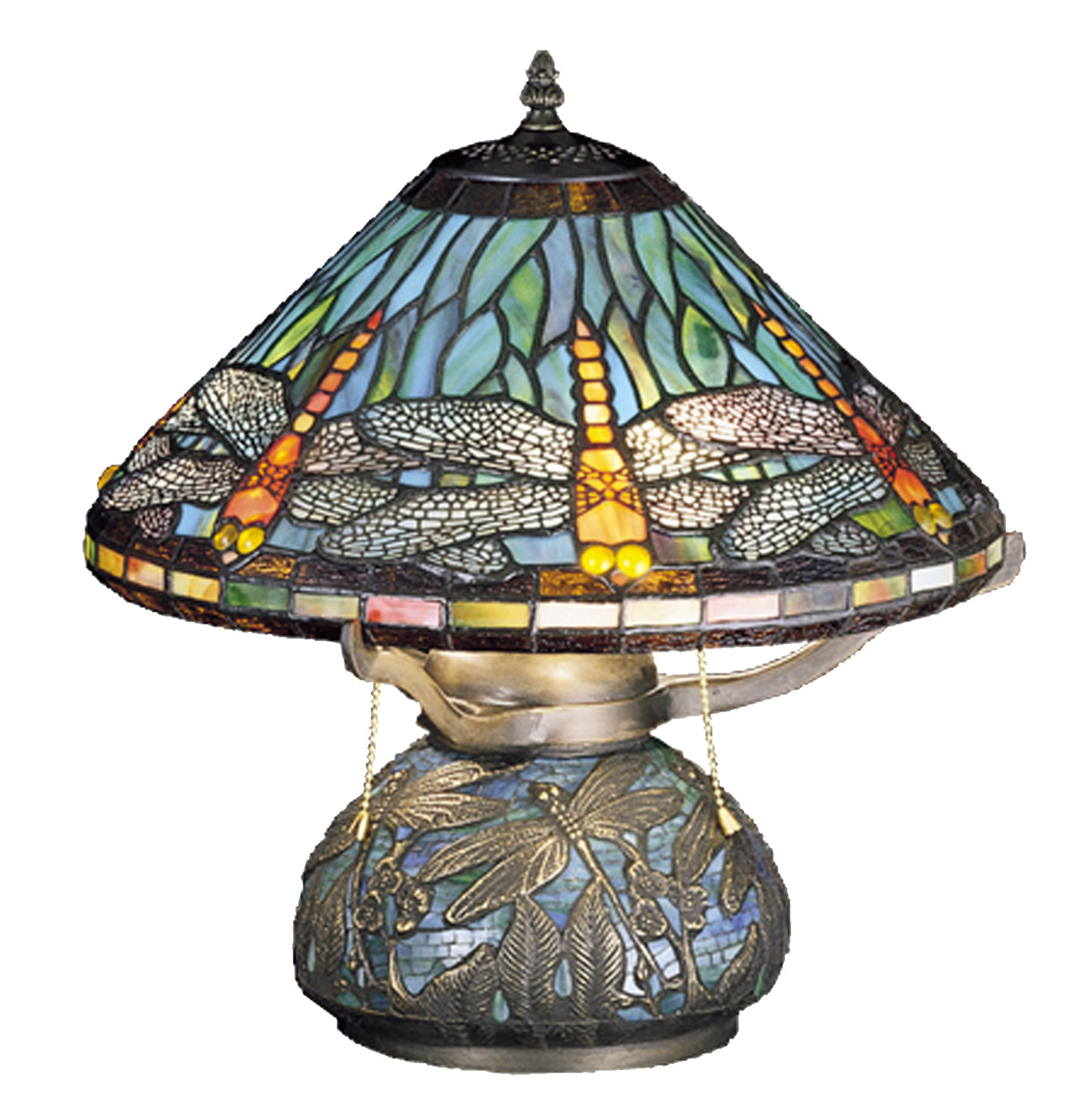 meyda tiffany dragonfly mosaic accent lamp table lamps large acrylic coffee modern blue vintage marble small chairside with drawer wide nightstand drawers ikea high top simon lee