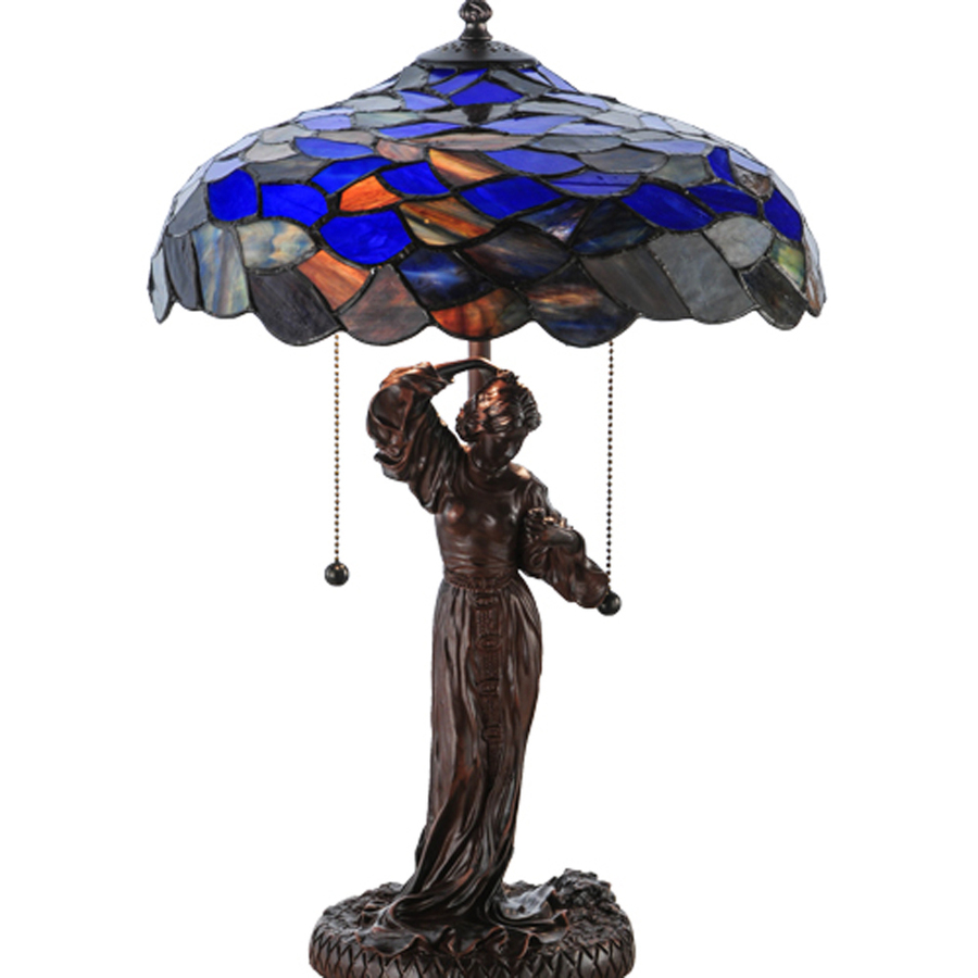 meyda tiffany griselda electrical table lamp with glass accent lamps shade white cloth placemats console doors blue chest black iron end grill tools furniture for tiny spaces wide