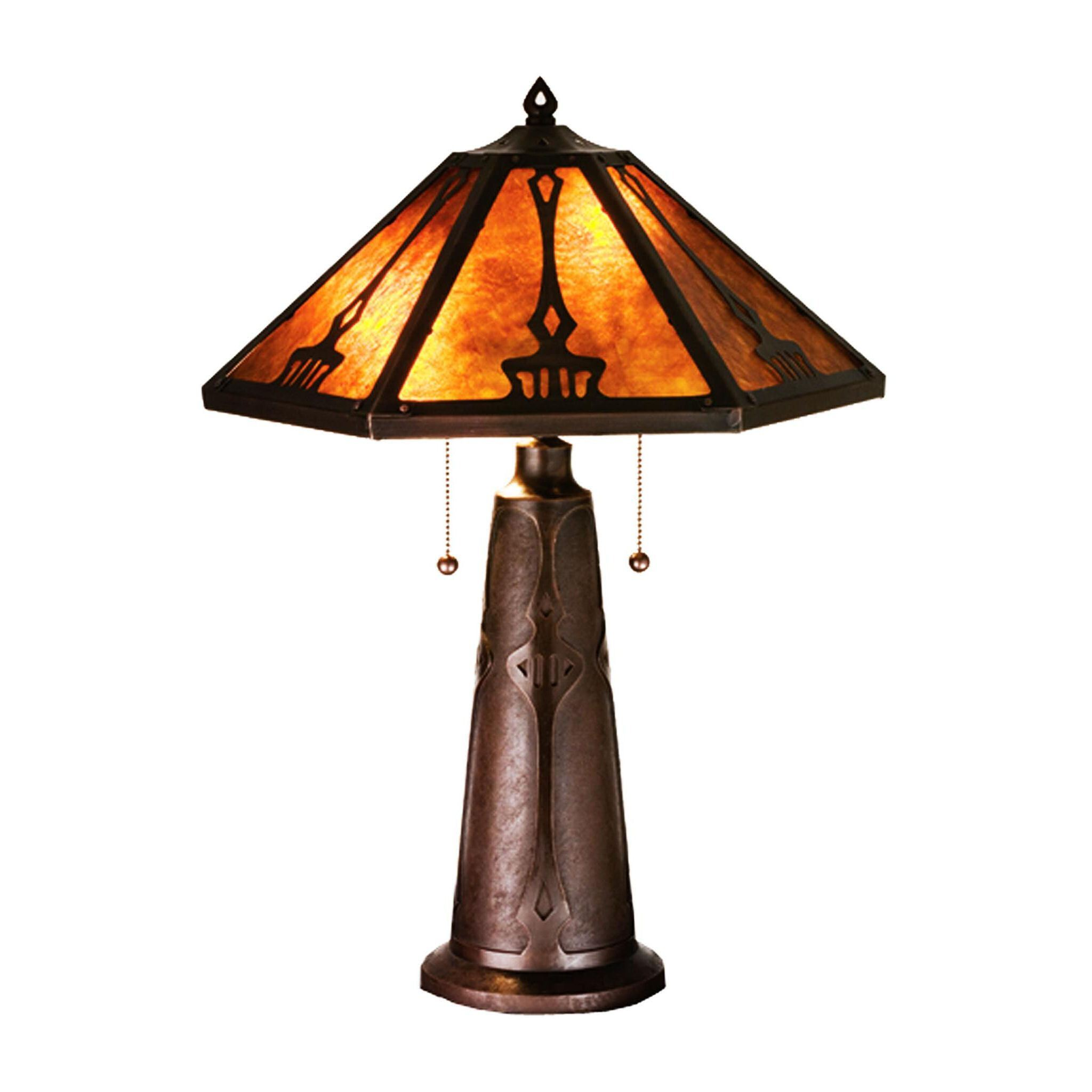meyda tiffany lamp style inch grenway amber mica table accent lamps gold chestnut console with doors girls desk black dining room chairs tablecloth factory small bedroom modern