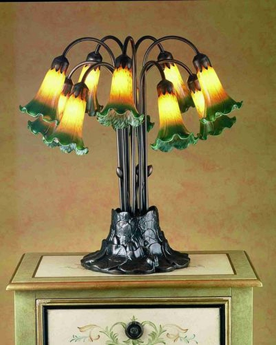 meyda tiffany light pond lily lampsusa table lamps accent lamp simon lee furniture nightstand elephant sculpture black iron end rectangle glass coffee patio umbrella clearance