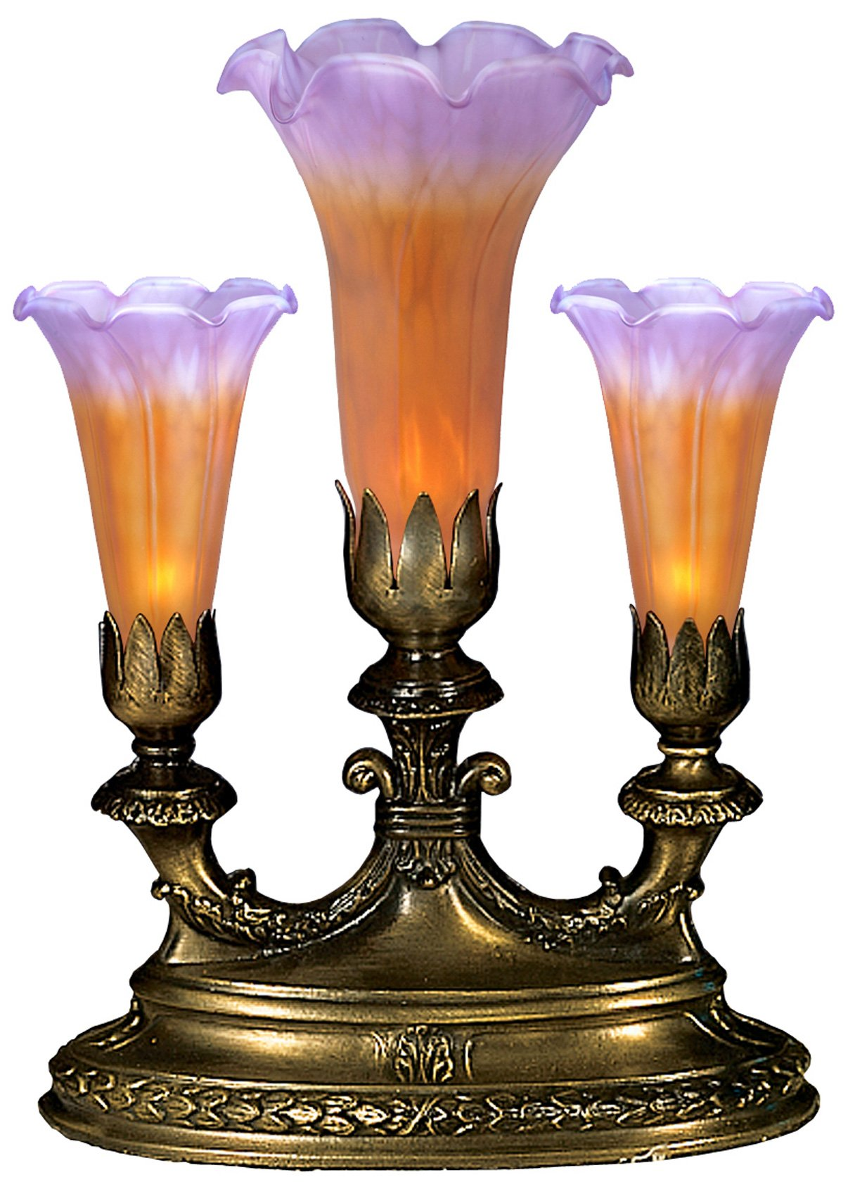 meyda tiffany mantelabra light amber purple lily accent table lamps transparent nightstand furniture bathroom vintage marble coffee for tiny spaces elephant sculpture formal