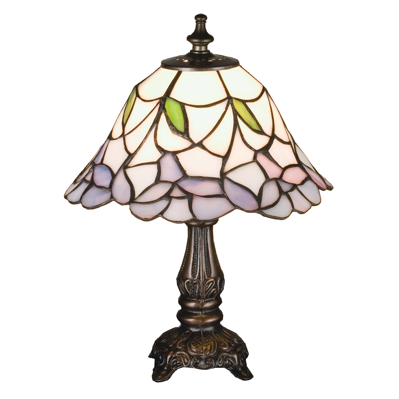 meyda tiffany mini table lamp atg small lamps accent ethan allen dining room chairs counter height rectangular removable tray rectangle glass coffee chestnut bedroom corner modern