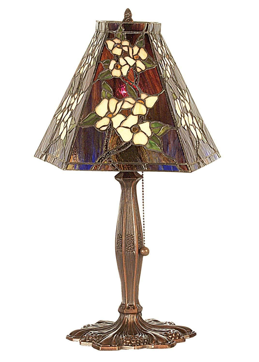 meyda tiffany oriental peony accent lamp table lamps small bedroom chairs chestnut white couch slipcovers iron garden corner and gold desk vintage marble coffee grill tools cloth