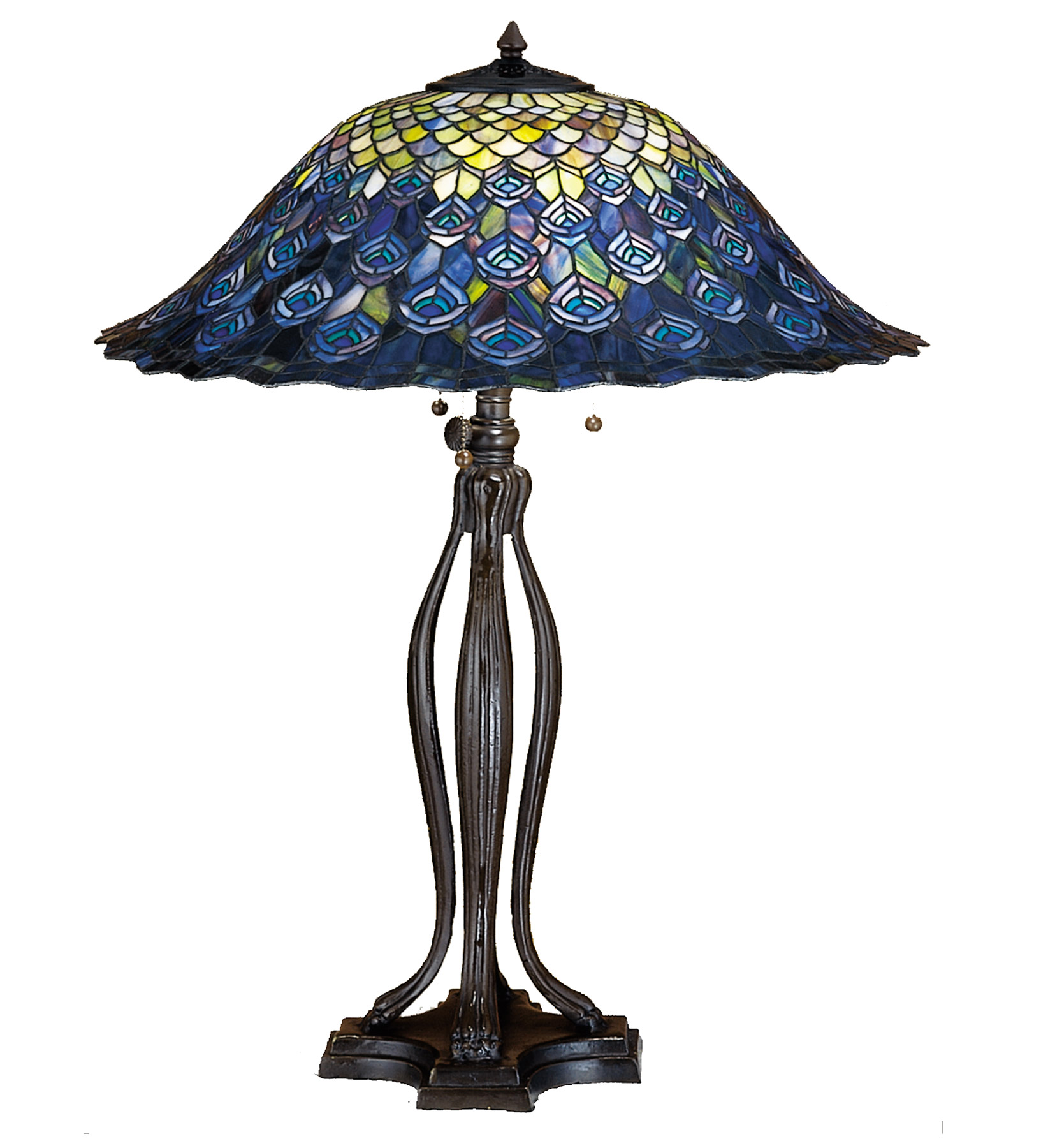 meyda tiffany peacock feather table lamp accent lamps black dining room chairs iron end elephant sculpture ethan allen gold entryway console magnussen side bathroom furniture