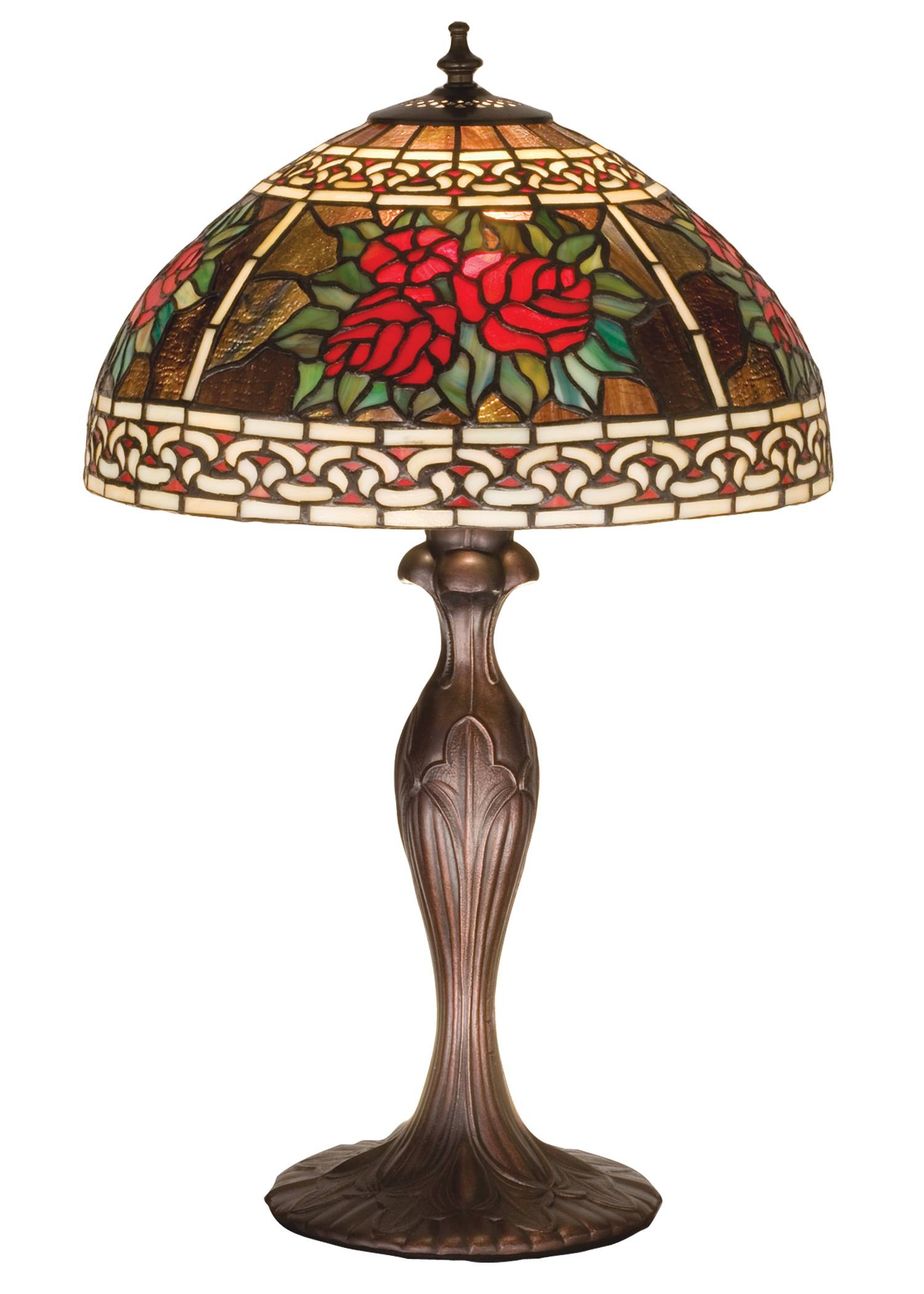 meyda tiffany roses and scrolls table lamp antique finish accent lamps entry room teal coffee tray girls desk grill tools black dining chairs counter height rectangular entryway