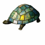 meyda tiffany turtle glass accent table lamp rattan side outdoor coffee and set round wood pedestal end console teal cabinet annie sloan chalk paint ideas tabletop decorative 150x150