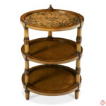 michael amini discoveries tier round accent table small unfinished jules tiny tables antique asian lamps night stand light square side living room chairs target wicker coffee 150x150