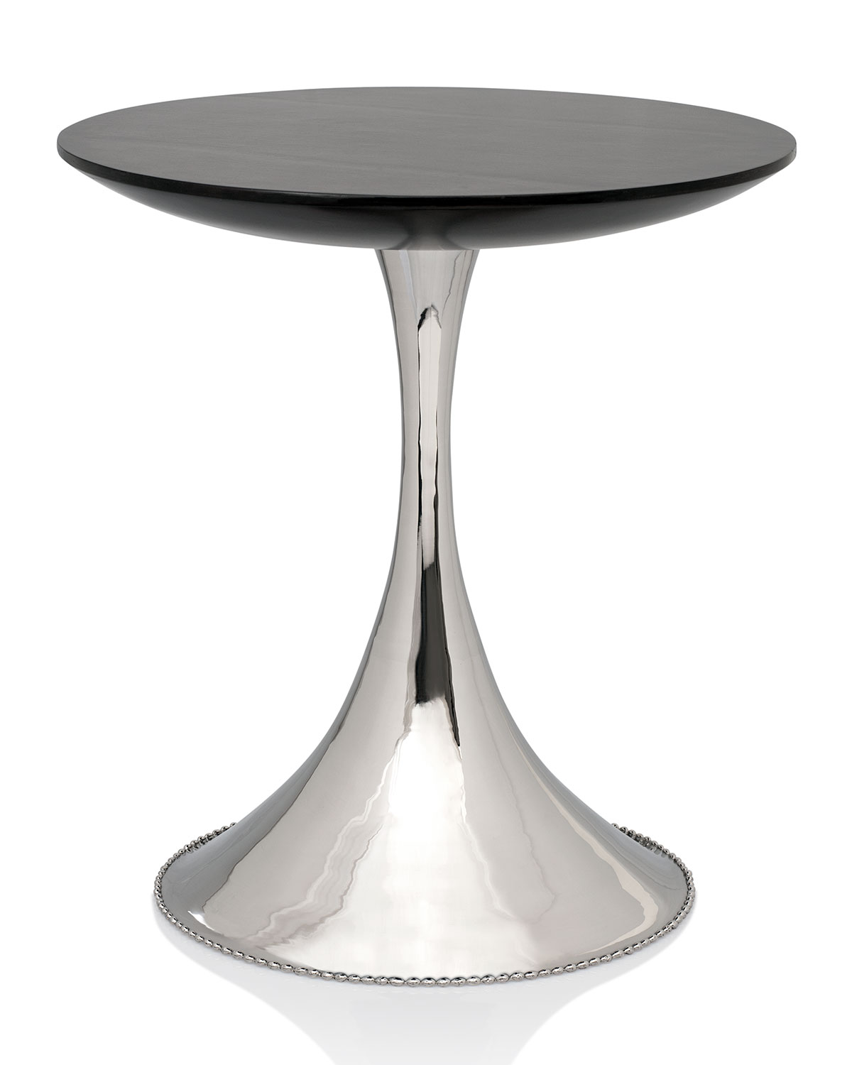 michael aram molten accent table neiman marcus small round patio glass bedside lamps kitchen unfinished furniture mosaic garden very narrow modern brass lamp top metal end palm
