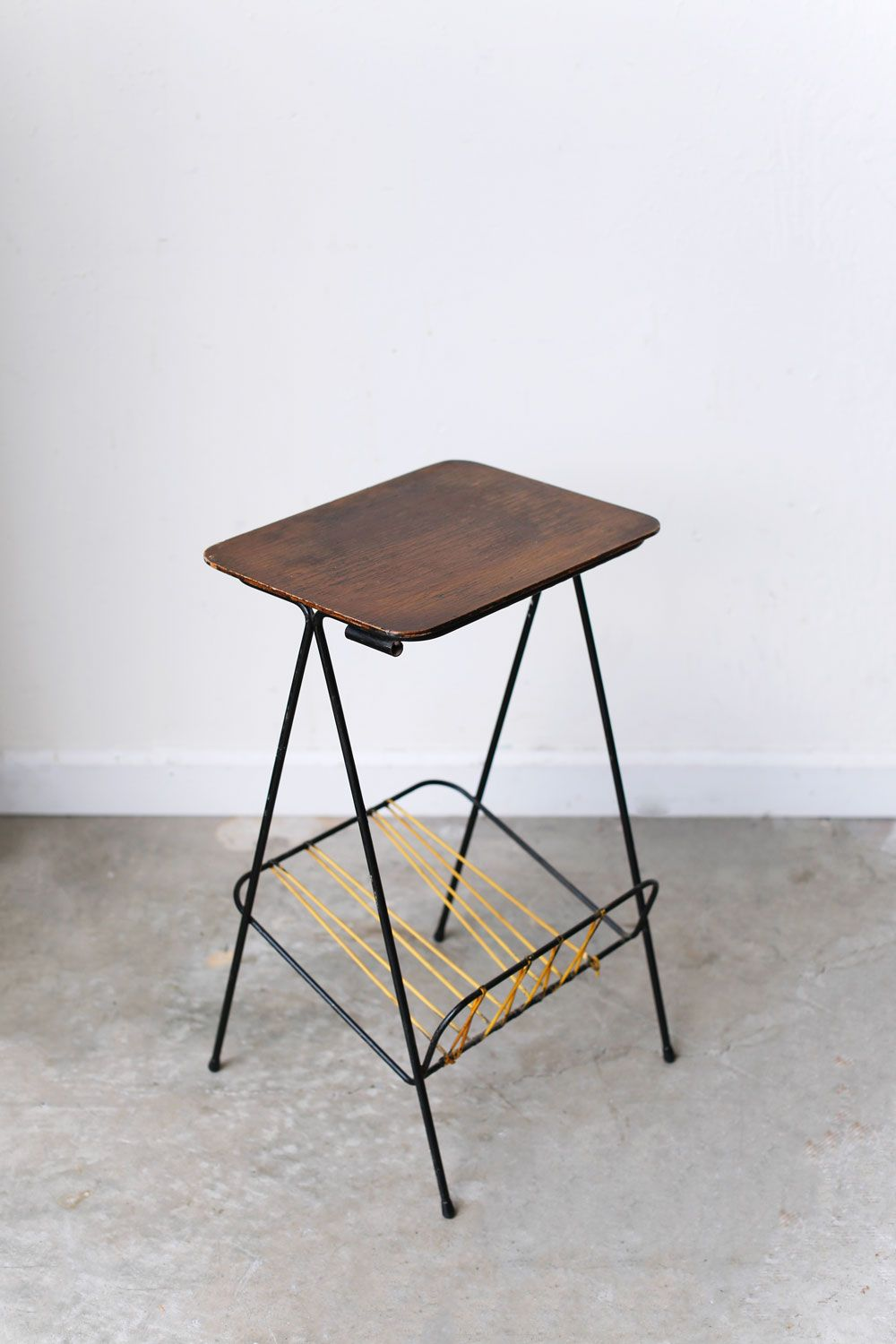 mid century accent table home furniture rugs inspiration modern found this pretty side with lower shelf depot outside lyon love its simple lines made wood heavy duty drum throne