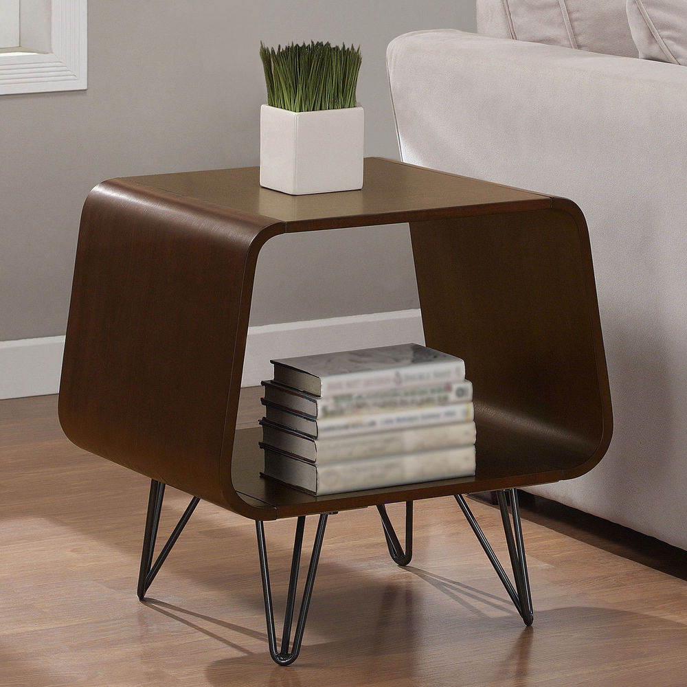 mid century accent table mcm modern jetsons space age cool slim tables farm dining with bench chrome legs round wood and iron coffee asus maroc thin entrance affordable leather